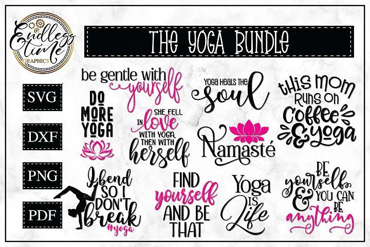 Yoga SVG Bundle