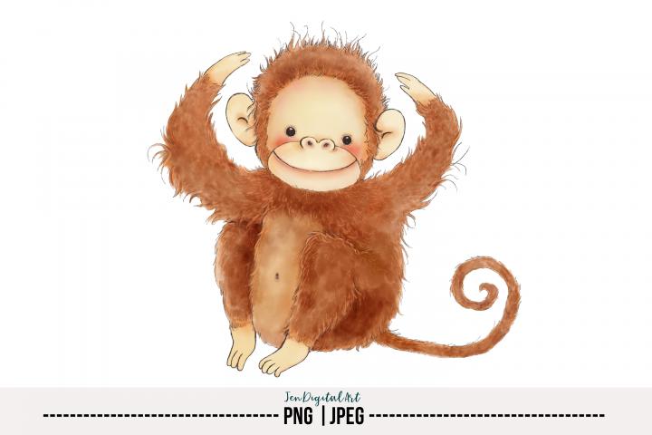 Monkey | PNG/JPEG | Single Image