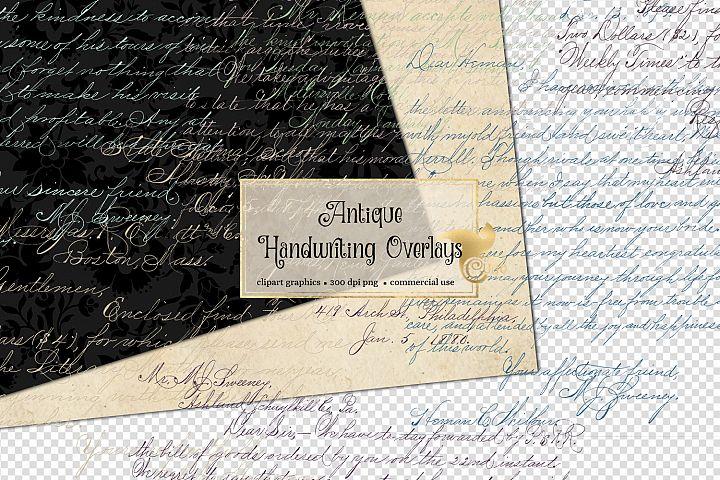 Antique Handwriting Overlays