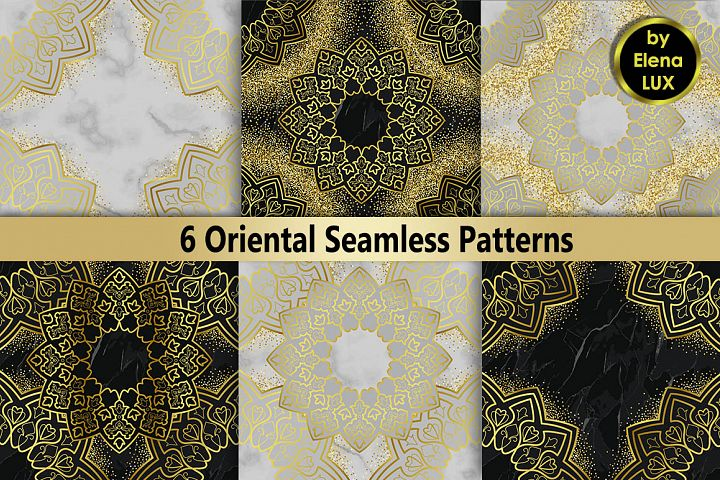 Oriental Luxury Seamless Set