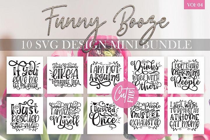 Funny Booze SVG Bundle Vol 4
