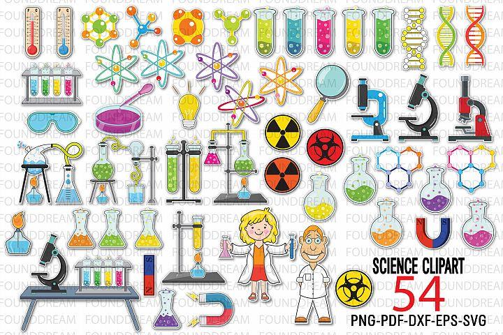 Science Laboratory clip art | Vector files