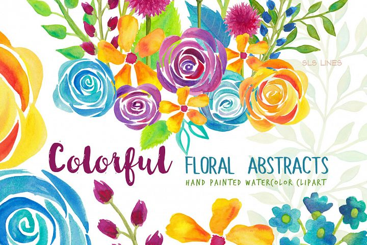 Colorful Flower Abstracts & Roses