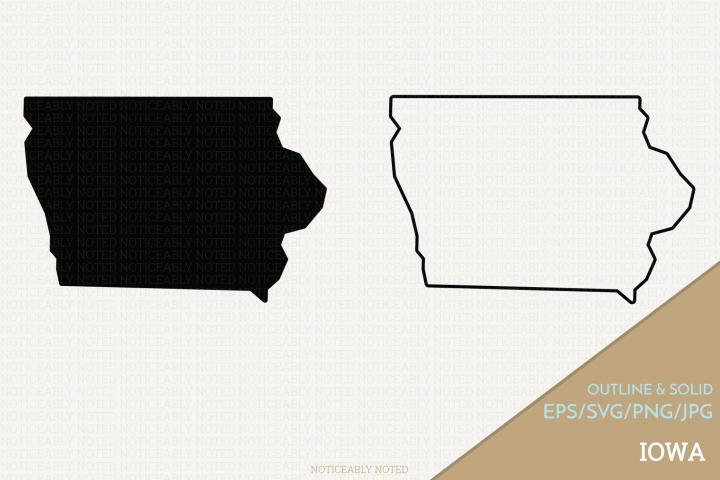 Iowa Vector / Clip Art