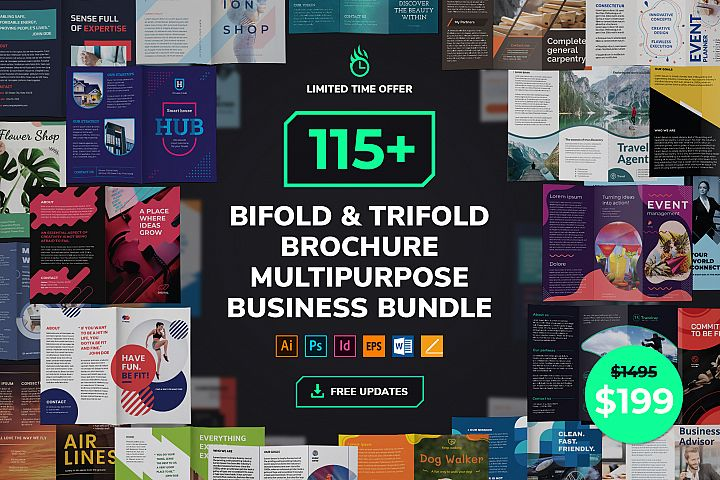 Business Proposal Brochure Templates Bundle SALE