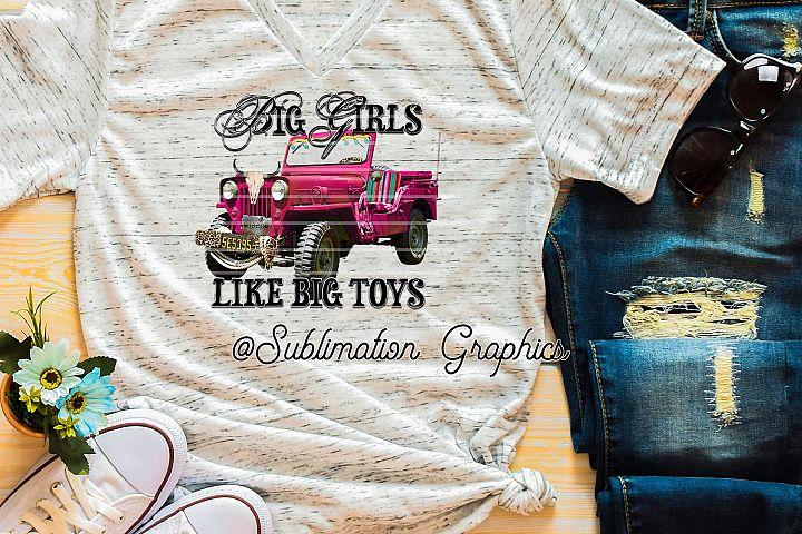 Big Girls 4X4 Sublimation Digital Download