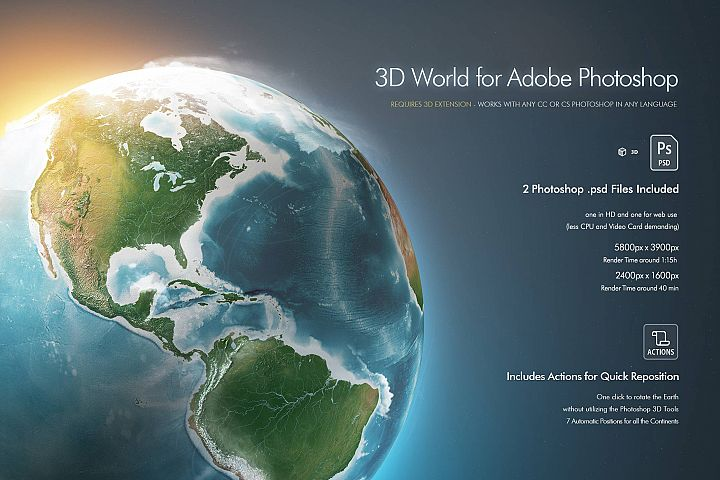 Photoshop 3D World