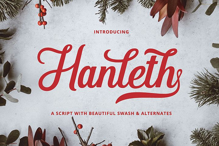 Hanleth Beautiful Script