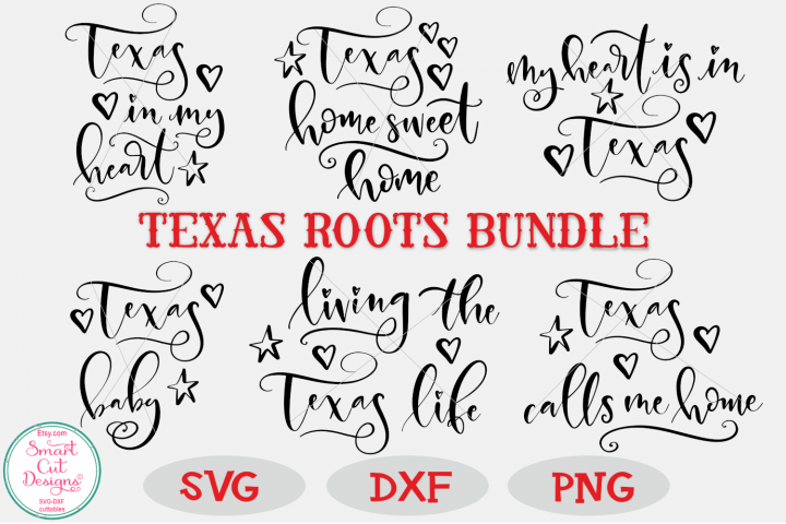Texas SVG Bundle, Texas Roots SVG, Texas Sayings, SVG Bundle
