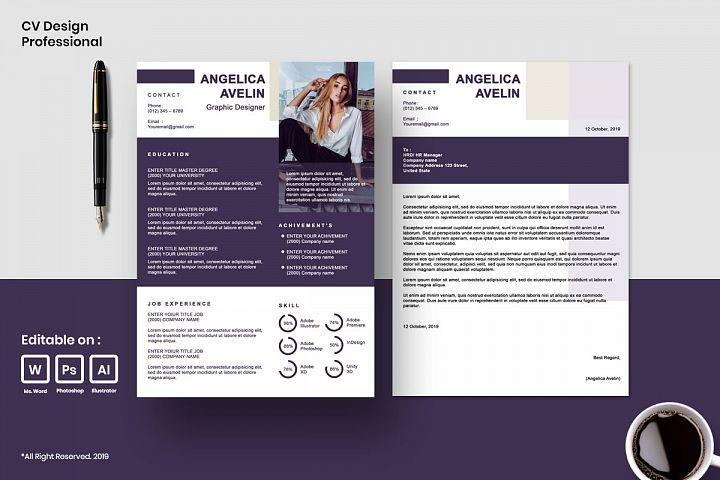 Cv Design Template Professional Vol.9