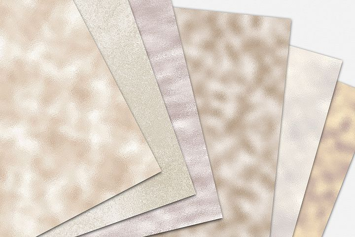 Pearl Foil and Glitter Textures - Metallic Backgrounds example 8