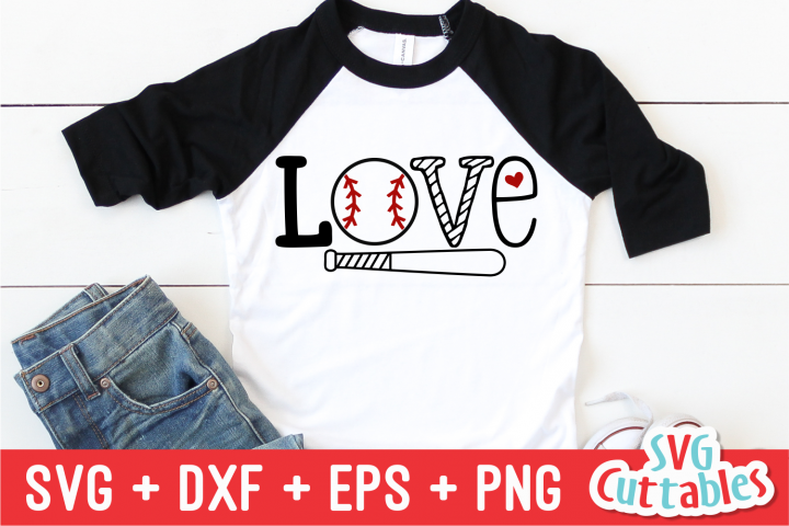 Love Baseball | SVG Cut File