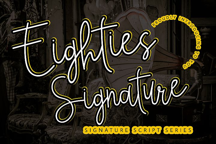 Eighties Signature