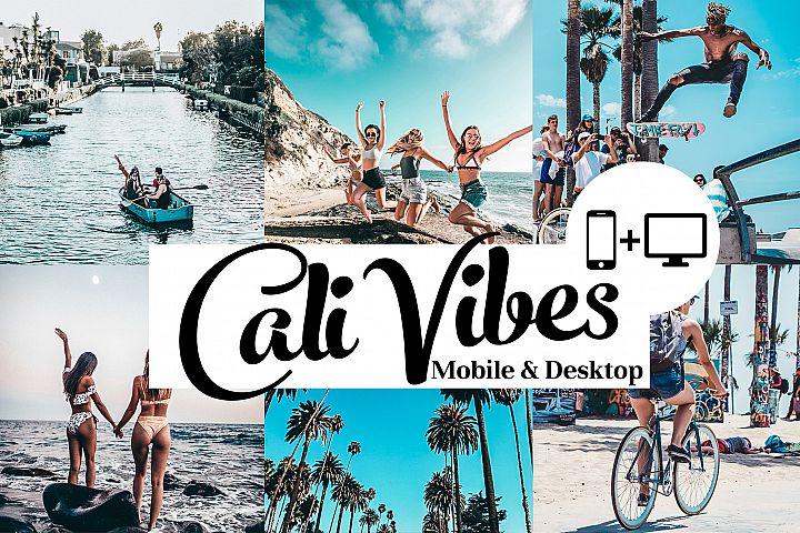 Cali Vibes - Lightroom Presets for mobile and desktop