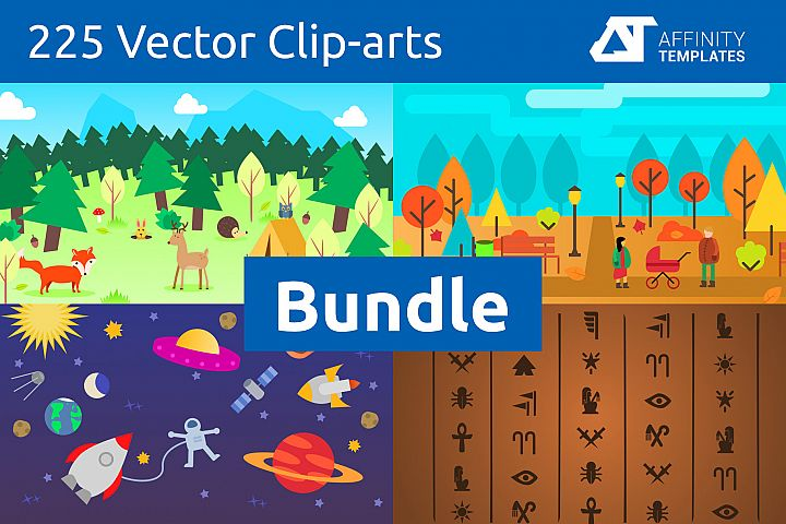 Affinity Designer Clip-atrs Bundle
