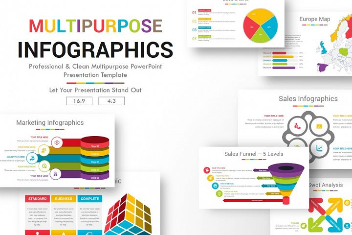PowerPoint Multipurpose Infographics