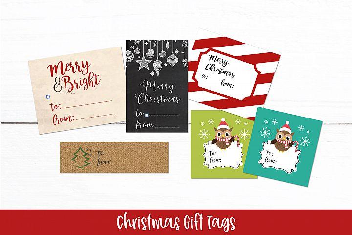 Christmas Gift Tags| Printable Christmas Gift Tags PDF