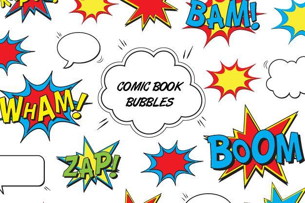 Comic Book Bubbles