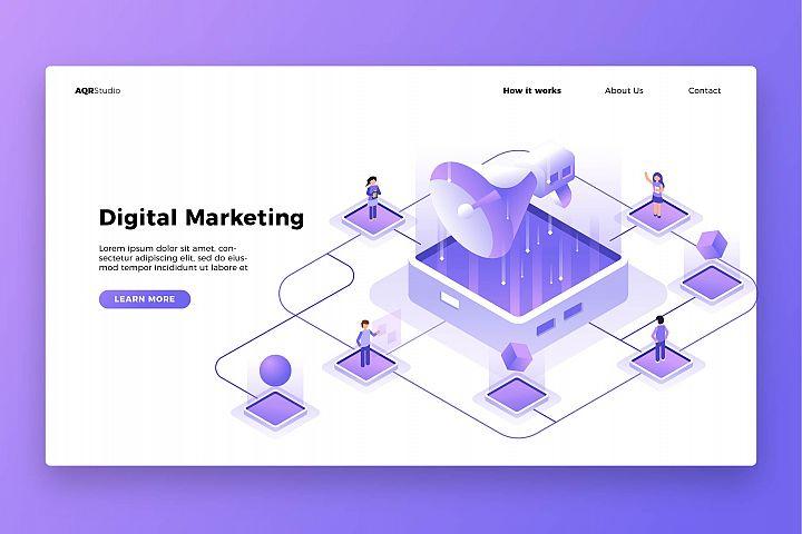 Digital Marketing - Banner & Landing Page
