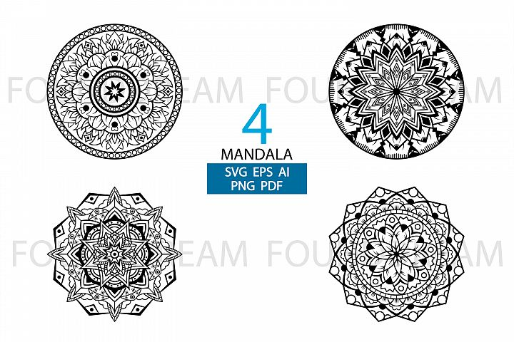 Mandala clipart | vector file