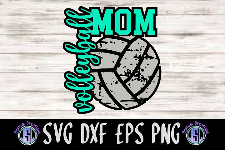 Volleyball Mom| SVG DXF EPS PNG Cut File