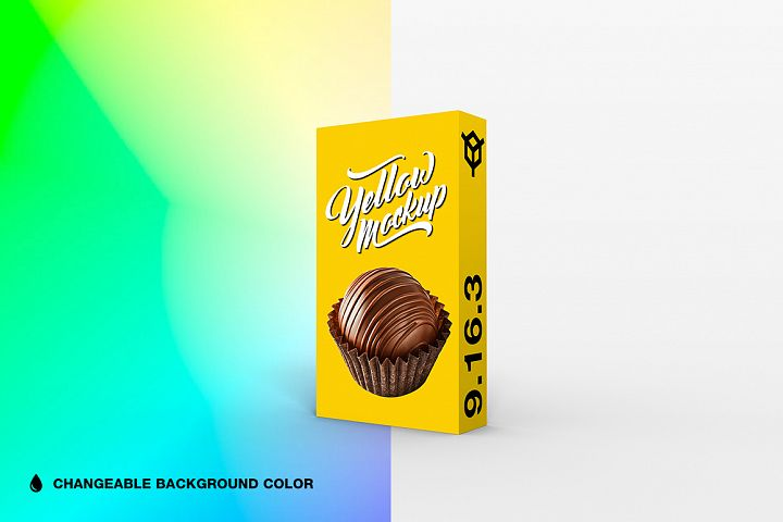 9.16.3 Simple 3D Box Mockup PSD