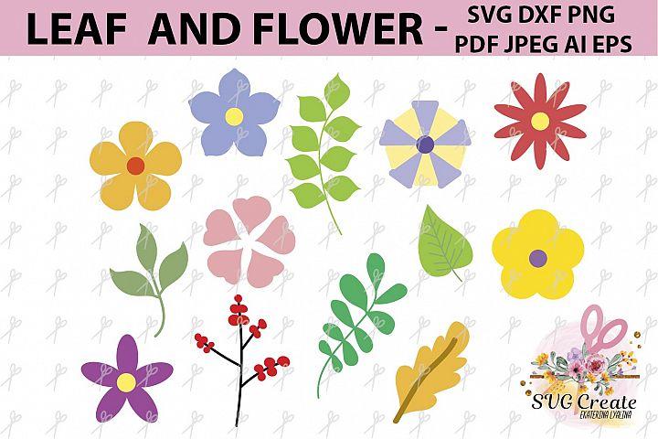 Flower svg, Leaf clipart, Flower clipart clip art, template