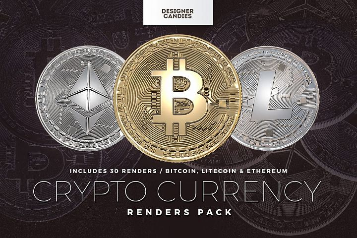 Bitcoin, Litecoin, Ethereum - Cryptocurrency PNG Clipart