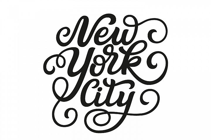 New York City SVG cut file
