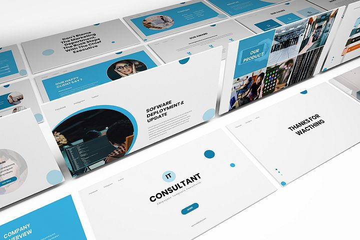 IT Consultant Powerpoint Template