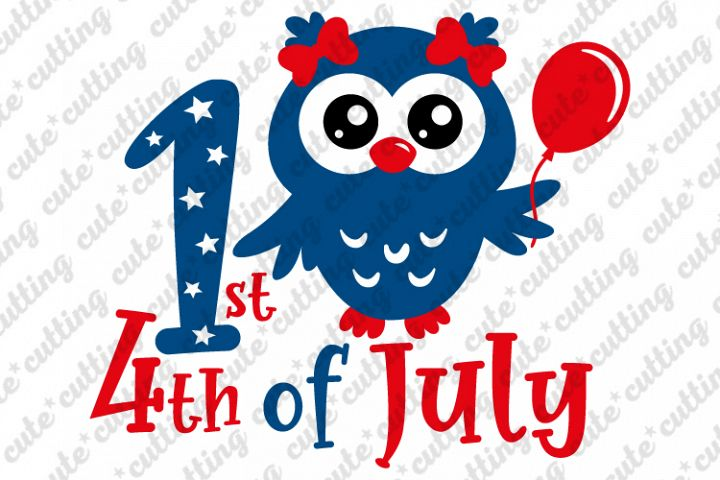 4th of july, owl svg, Fourth Of July , 1st 4th of July svg