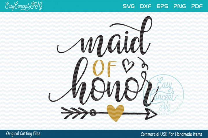 Maid of Honor svg