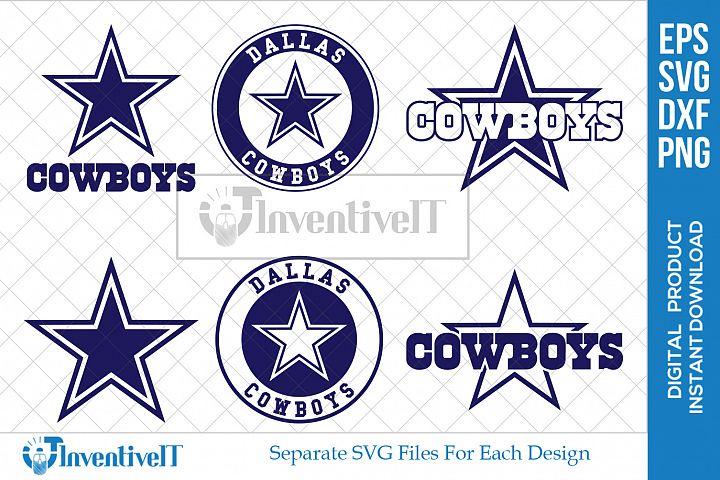 Dallas Cowboy | Dallas Football | Sports | Cowboy | SVG |