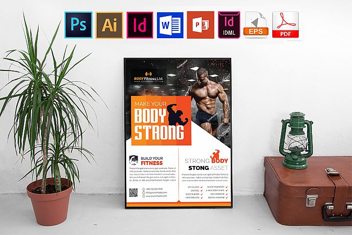 Poster   Gym & Fitness Vol-03