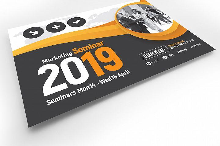 Marketing Seminar Flyer Template example image 4