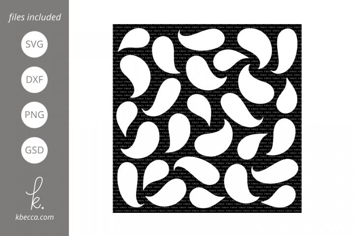 Ghosts Stencil SVG Cut Files