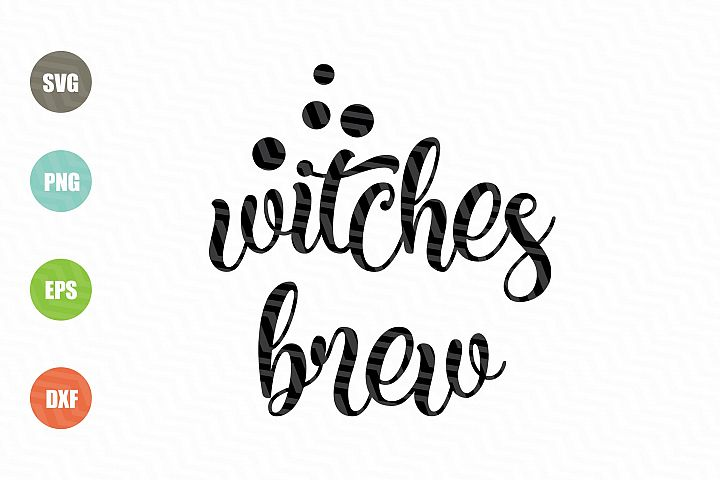 Witches Brew SVG File