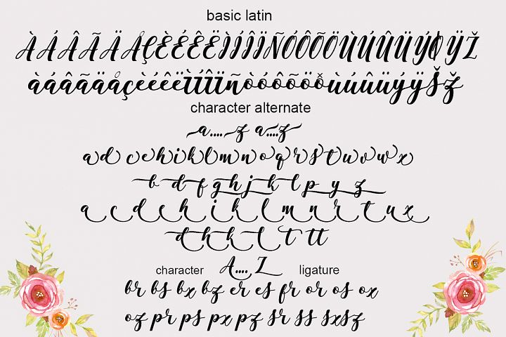 Antelope Script - Free Font of The Week Design5
