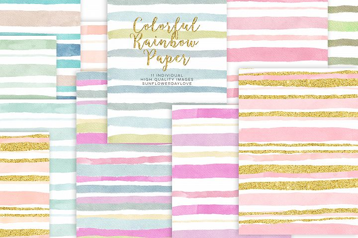 Pink and Gold digital paper commercial use
