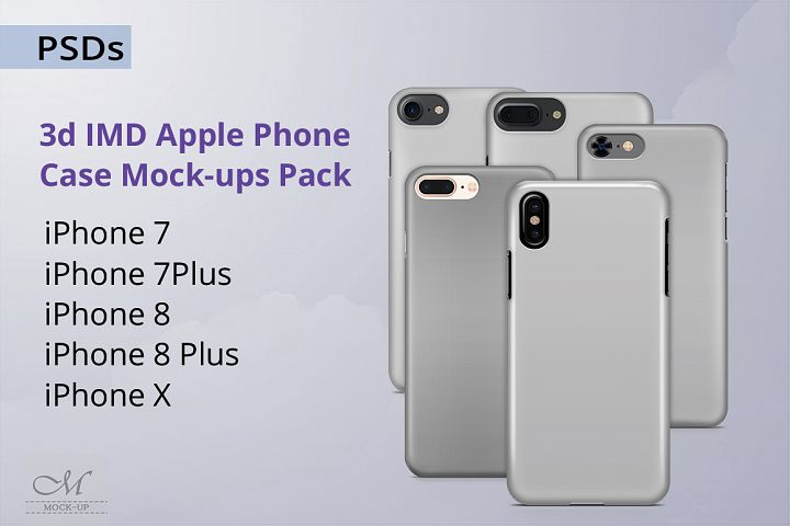Apple Phone Case Mockup Pack