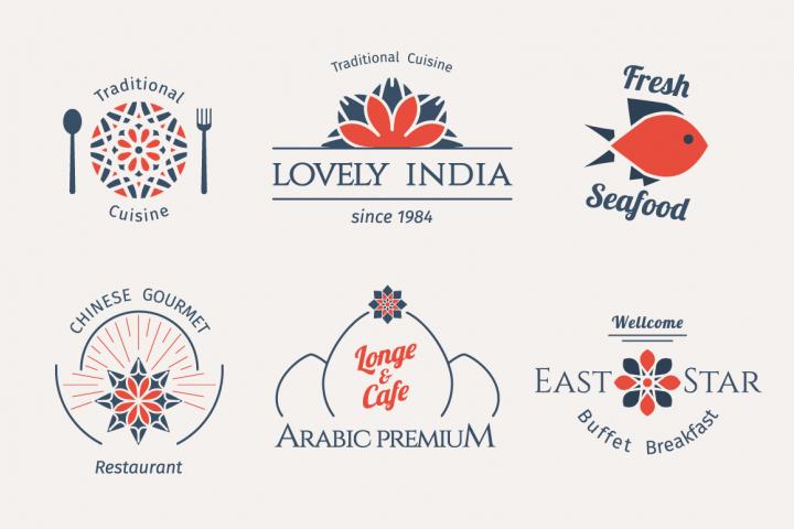 6 Food Logo Templates