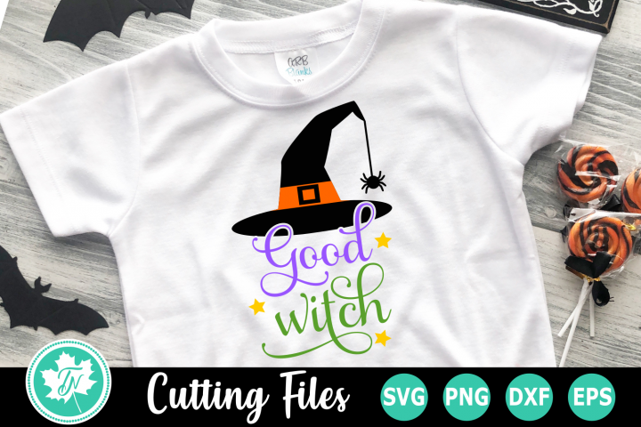 Good Witch - A Halloween SVG Cut File