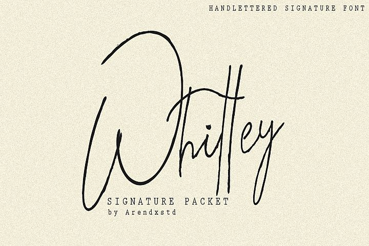 Whitley Signature Packet