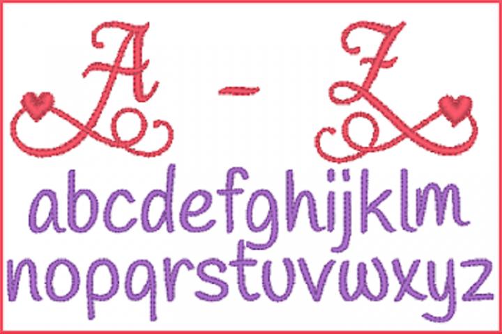 Heart 2 Heart Alphabet