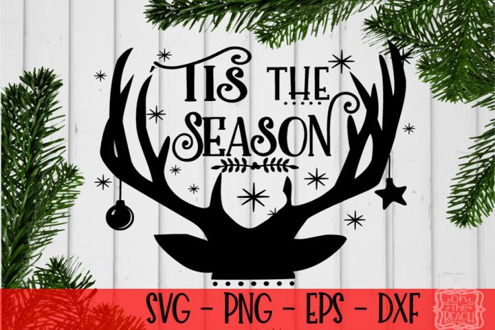 Christmas - Tis The Season SVG