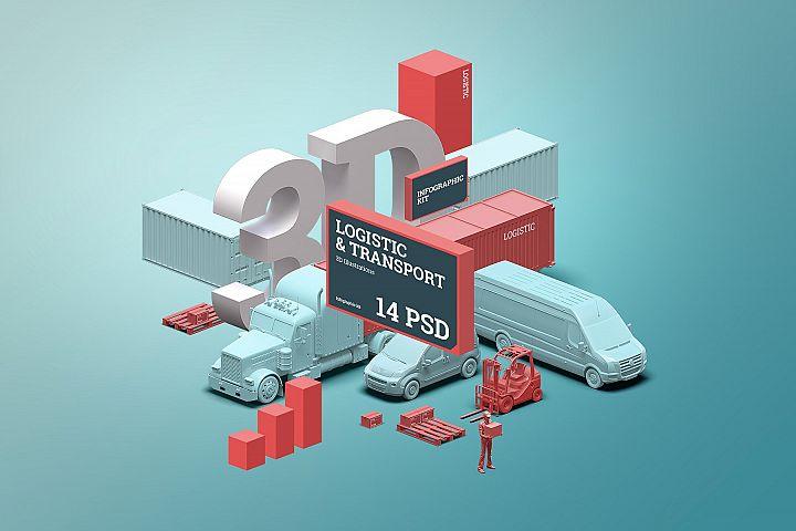 3D Scene generator: Logistic