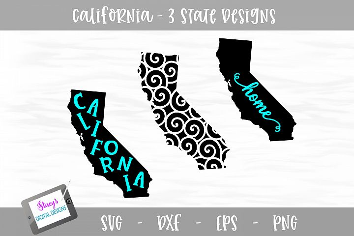 California Mini Bundle - 3 California State Designs