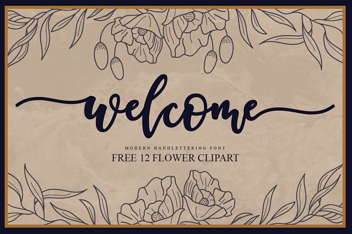 Welcome Handlettering Font