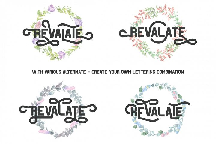 Revalate - Stylistic Sans Serif example 1