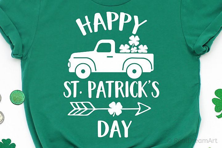 Happy St. Patricks Day SVG, DXF, PNG, EPS